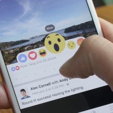"""Alternativa ao """"curtir"""": Facebook lança botão de reações no mundo inteiro"""
